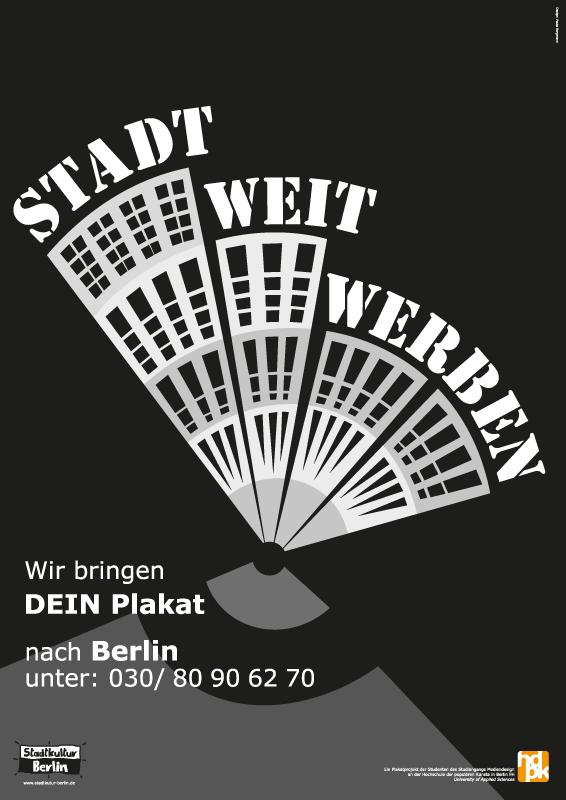 Plakate für stadtkultur II