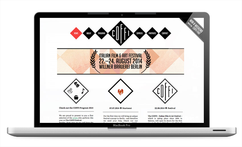 coffi-festival-website